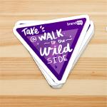 Take a Walk 2 the Wild Side - Sticker