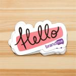 Sticker-Hello-BrandMe