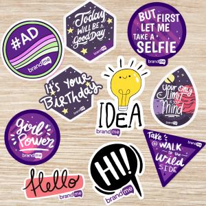 BrandMe Stickers